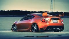 Orange Car 32762