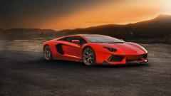 Orange Car Background 32751