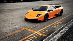 Orange Car Wallpaper 32761
