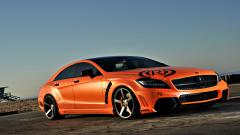 Orange Car Wallpaper 32764