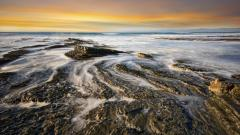 Rocky Shore Wallpaper 33964