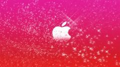 Sparkly Apple Wallpaper 24023