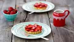 Strawberry Tarts Wallpaper 42400