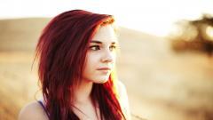 Stunning Red Hair Wallpaper 35160