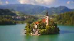 Tilt Shift Wallpaper 34142
