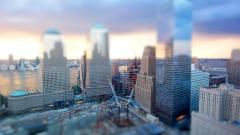 Tilt Shift Wallpaper 34158