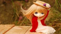 Toy Doll Blue Eyes Wallpaper 42425
