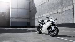 White Bike Wallpaper 33030