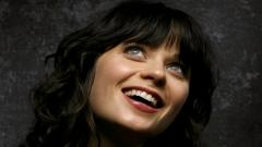 Zooey Deschanel Smile Wallpaper 6176