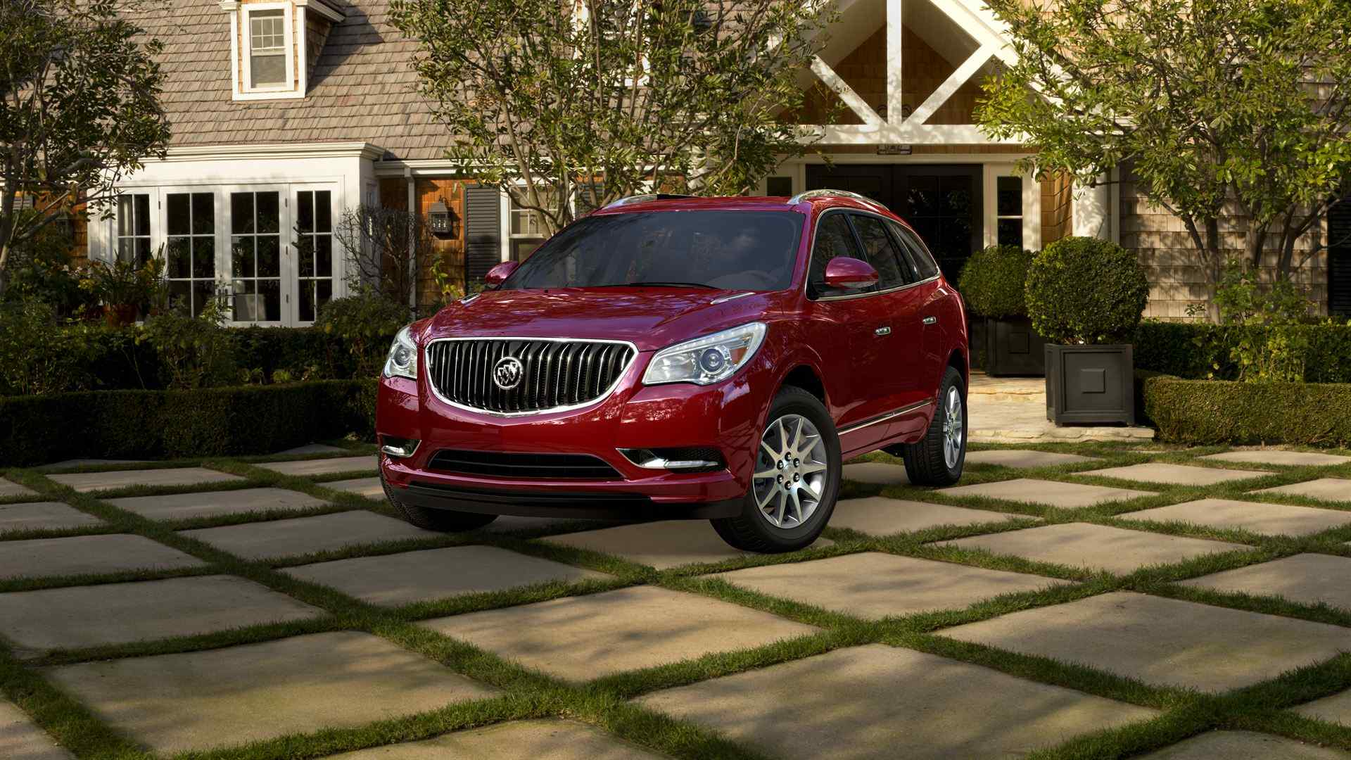 2014 red buick enclave wallpaper 45118