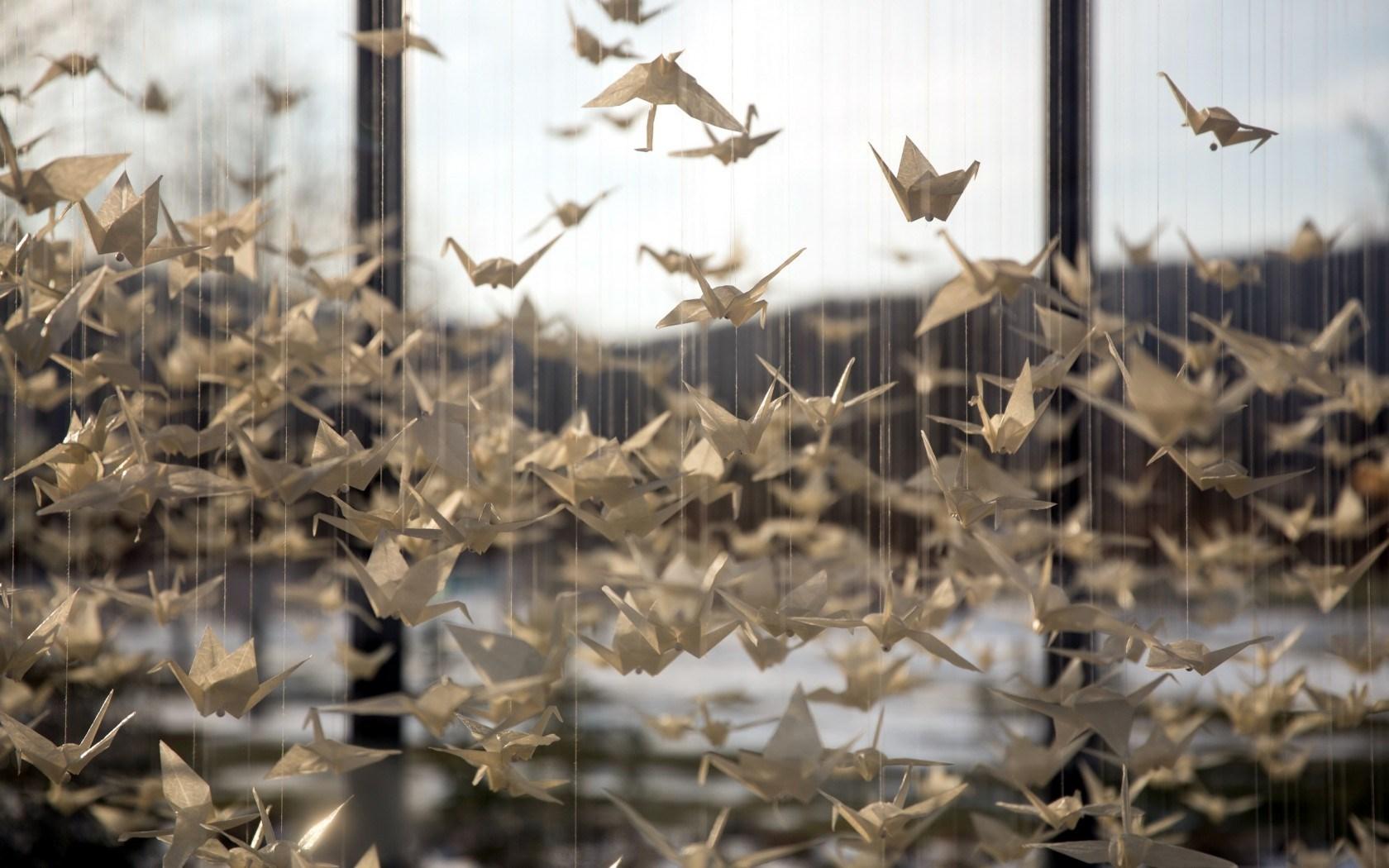 amazing origami wallpaper 41121