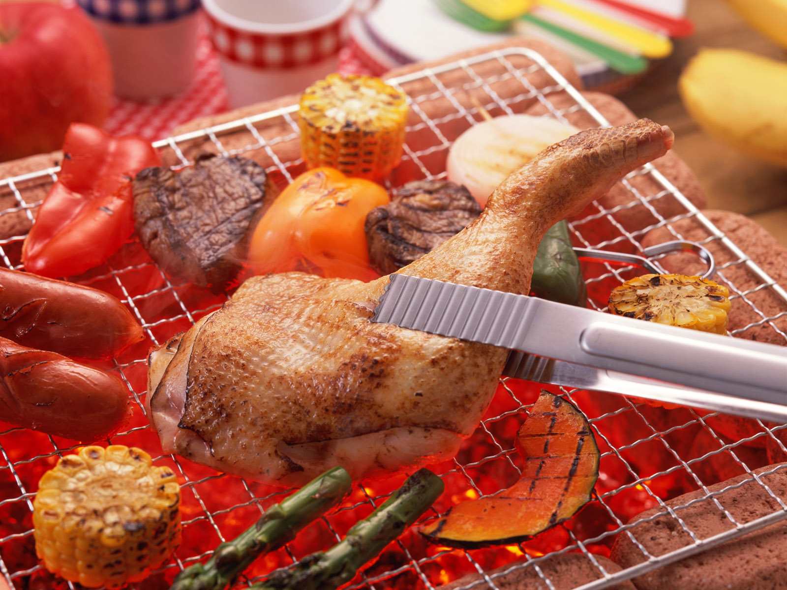 barbecue wallpaper 41845