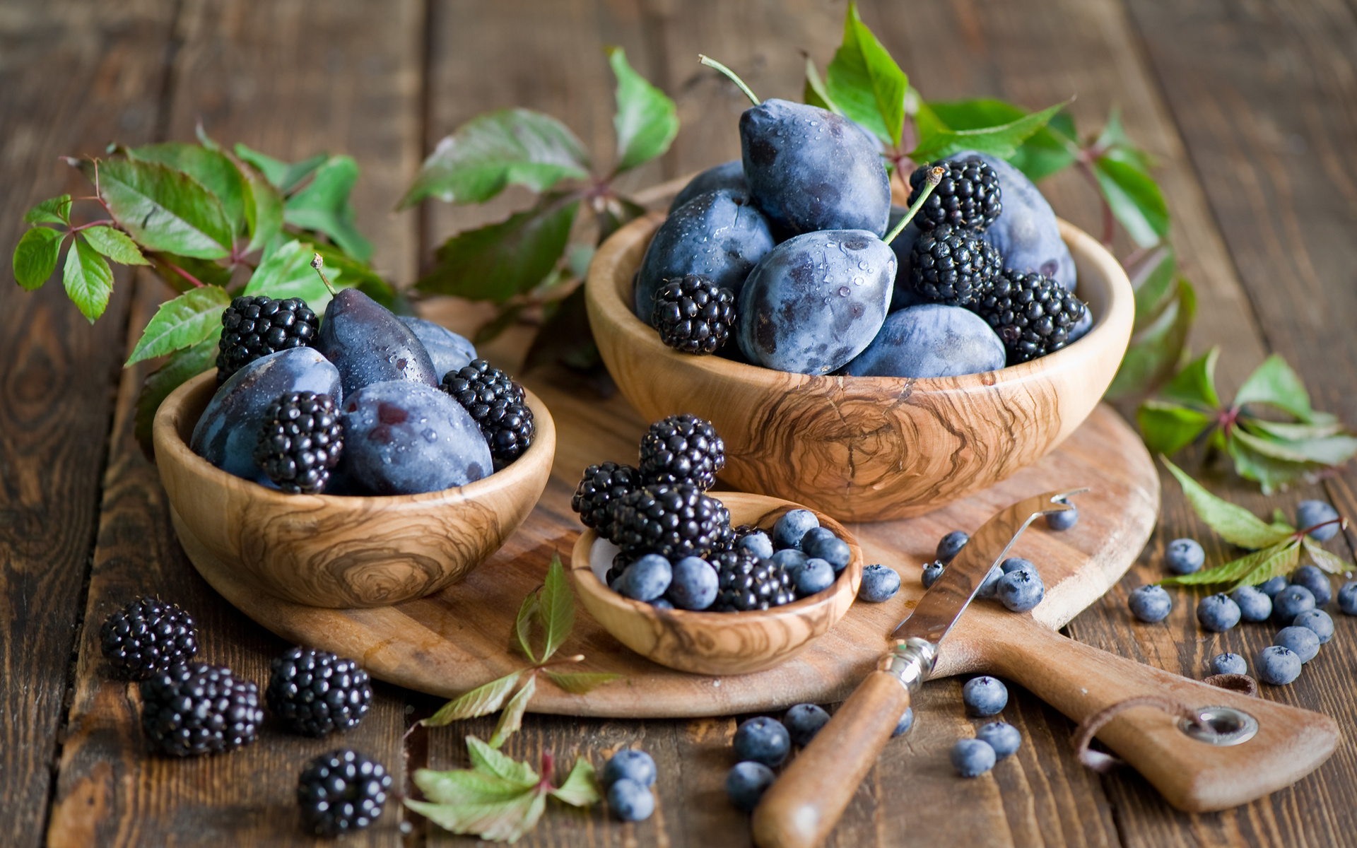 beautiful blackberries wallpaper 38888