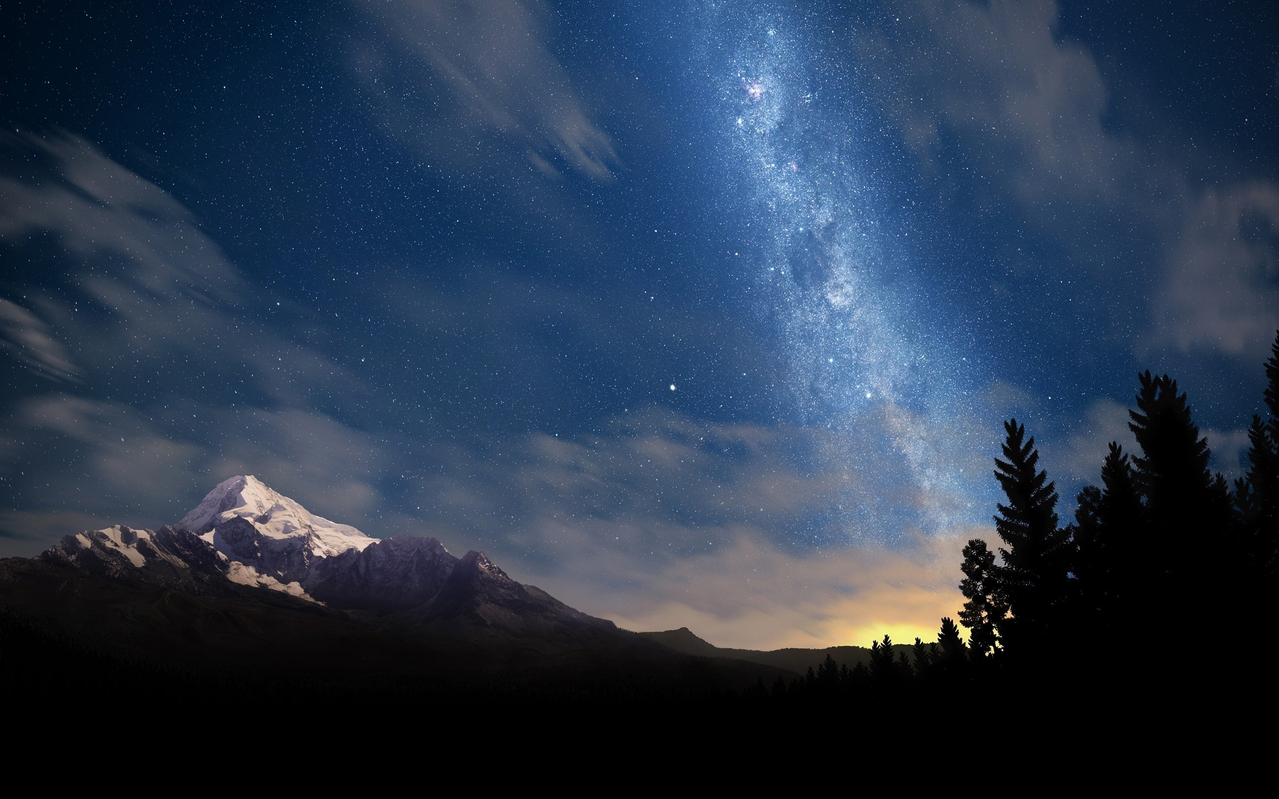 beautiful milky way wallpaper 28610