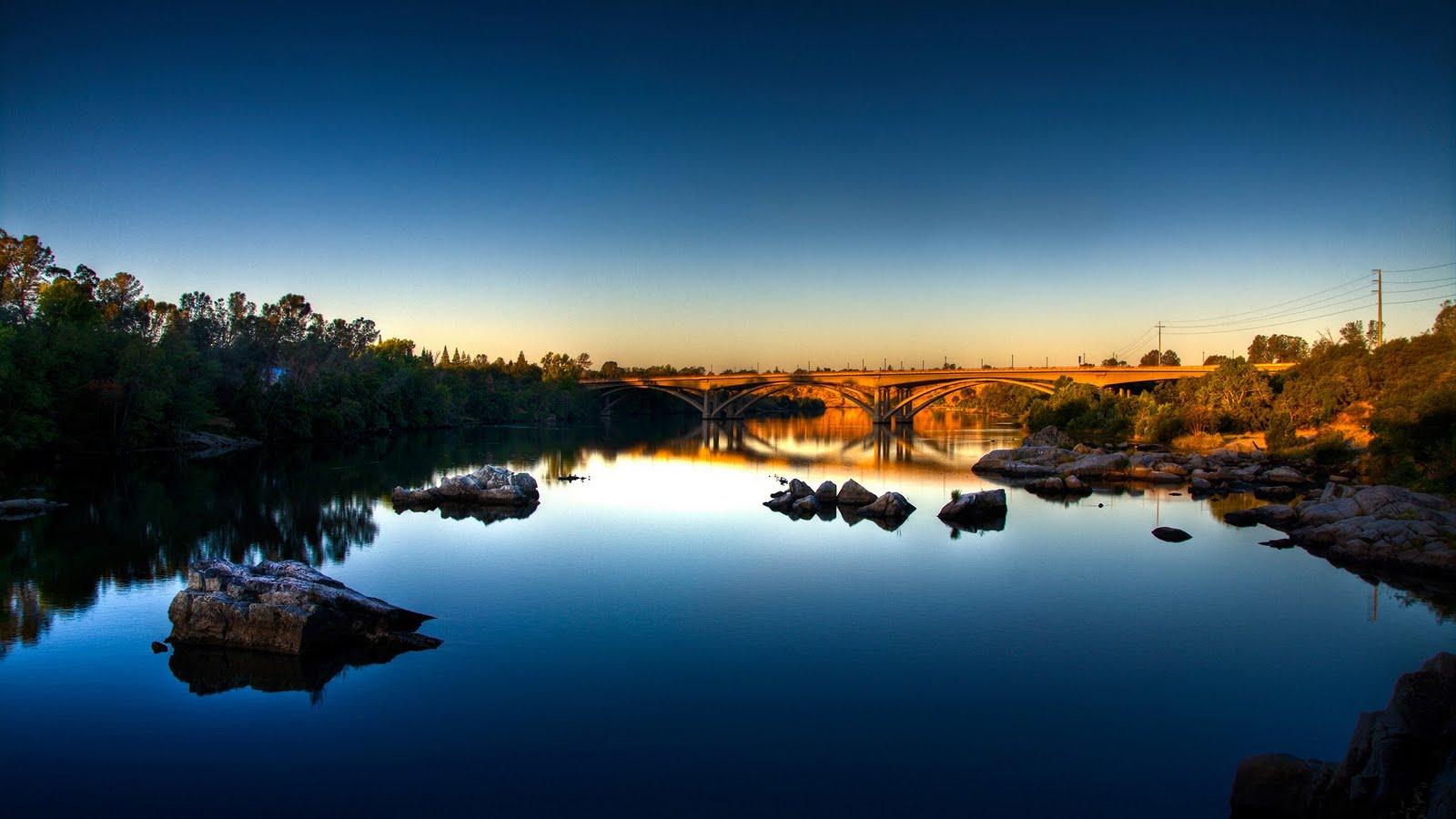 blue sunset 15107