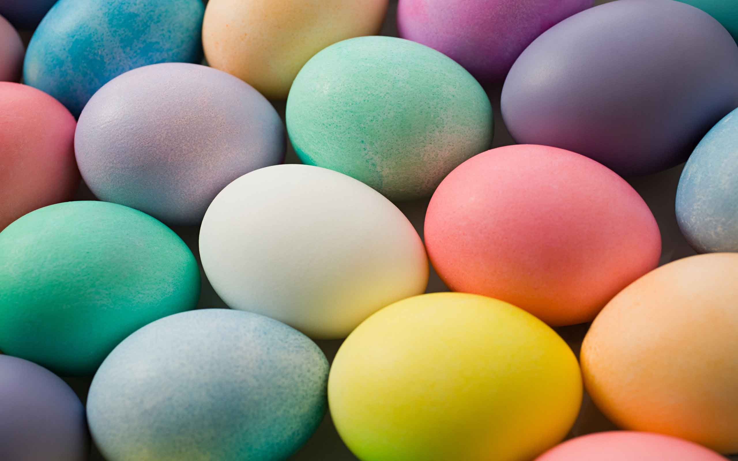 colored easter eggs hd - photo #7