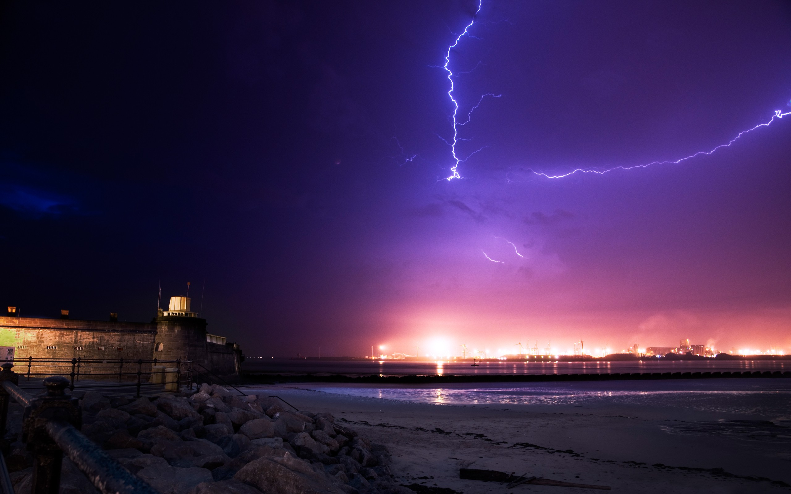 cool lightning wallpaper 33474