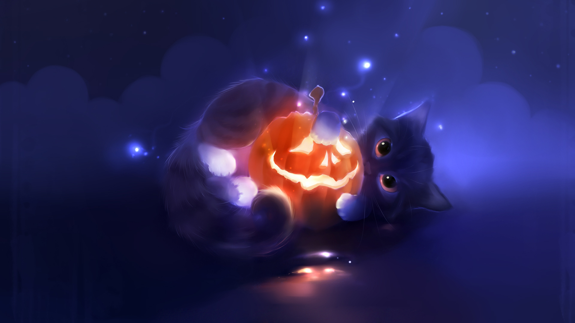 Happy Halloween Cute Background Wish Hd ~ Inspiring Quotes and ...