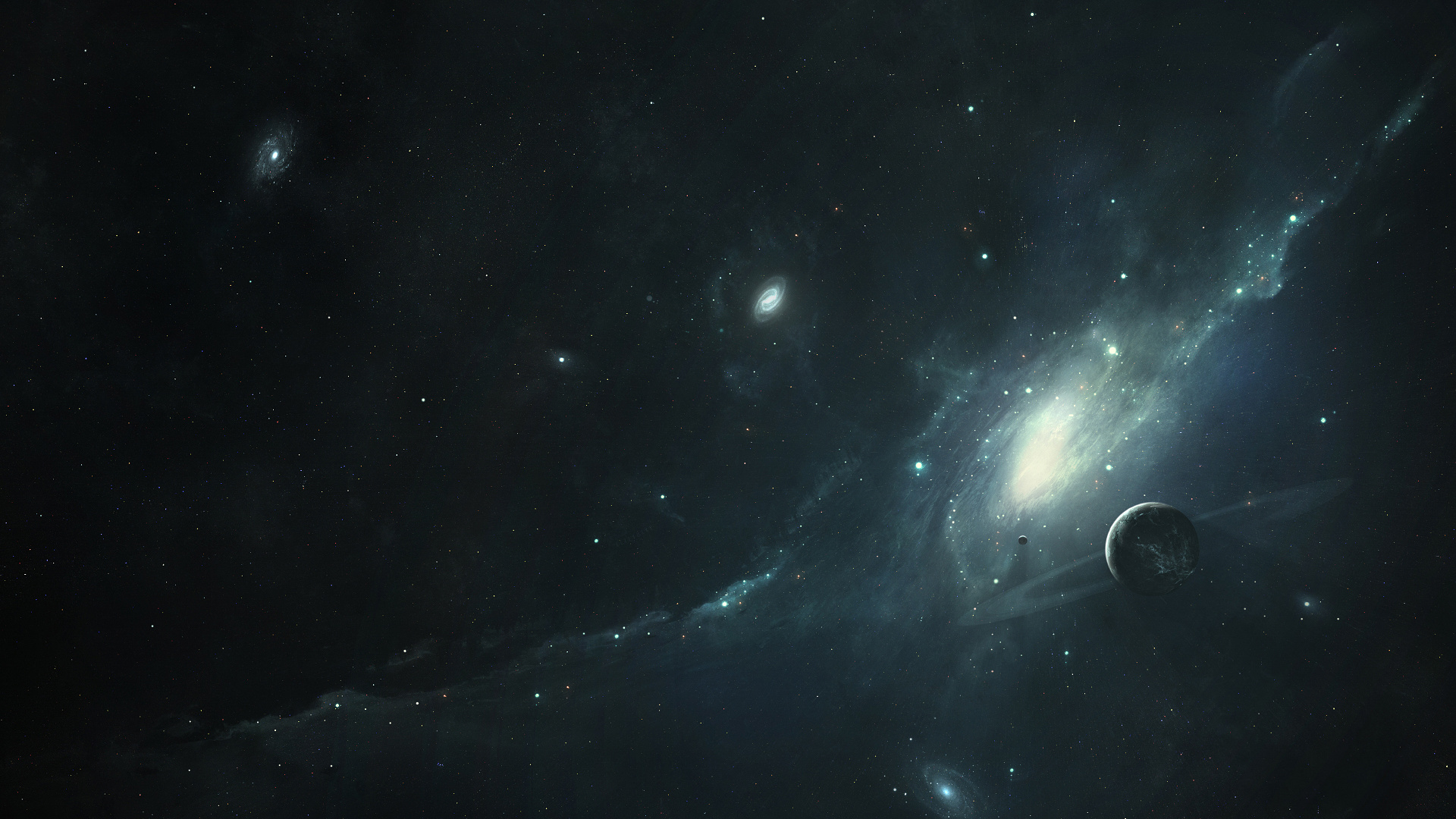 Dark universe 30104 1920x1080 px for Retro outer space