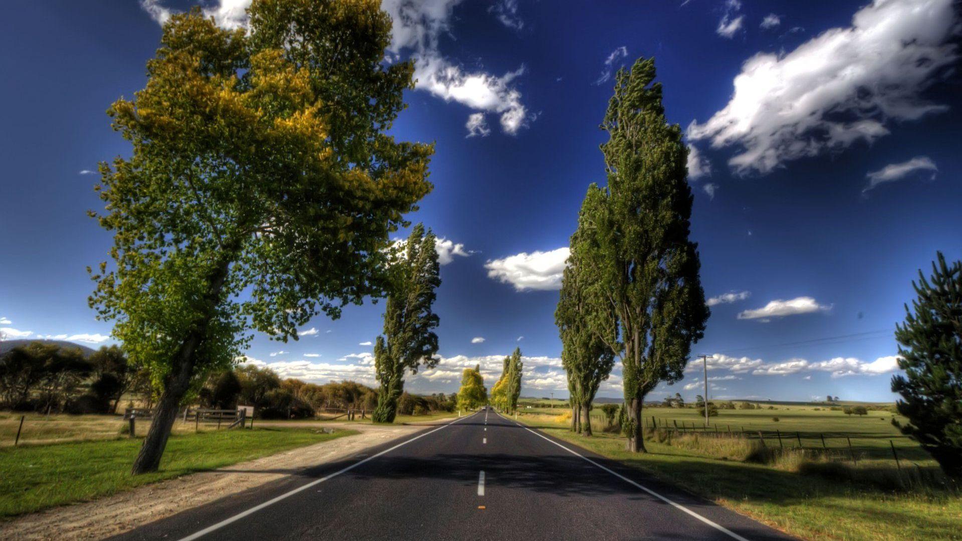 empty road hd 34981