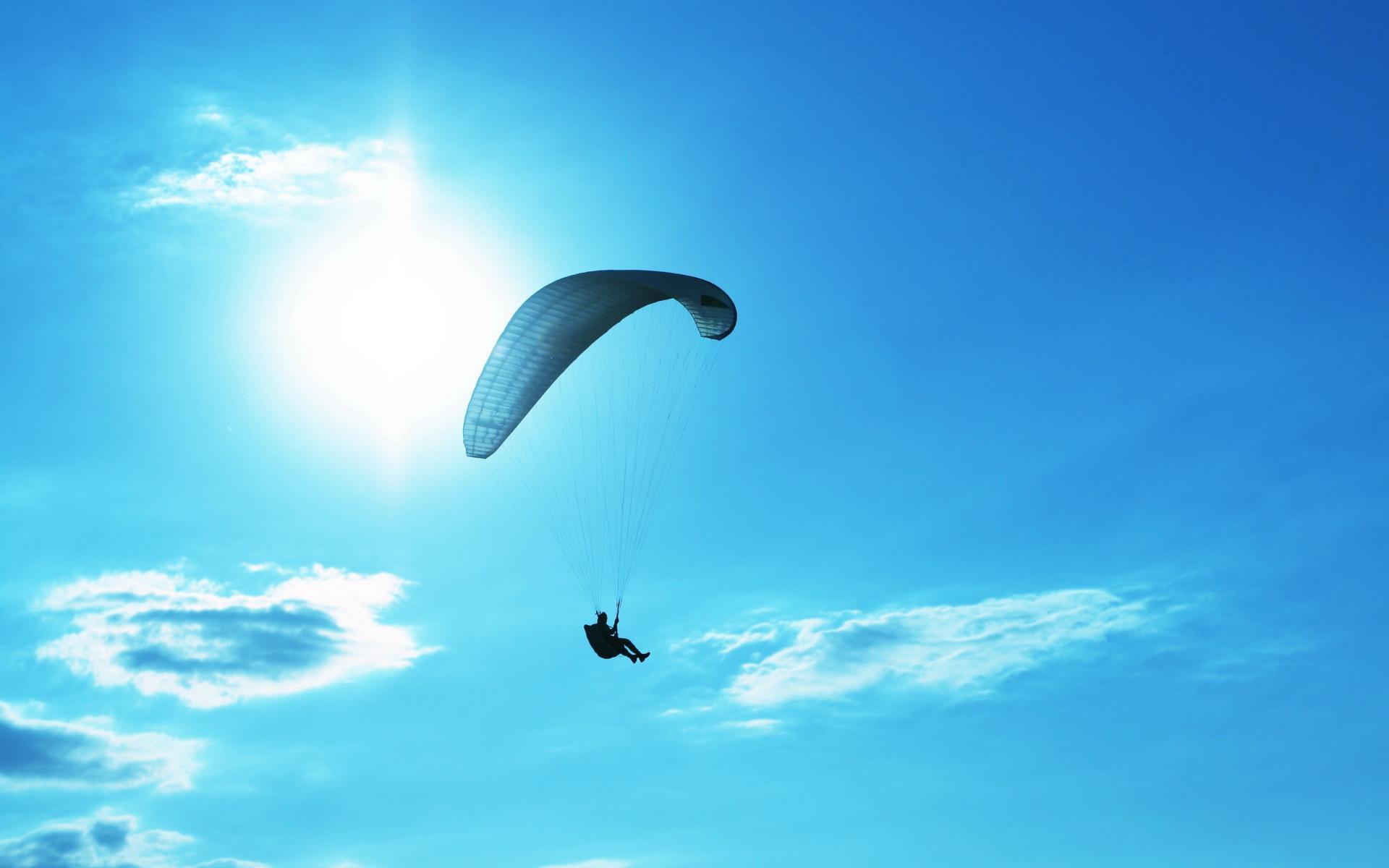 fantastic parachute wallpaper 43503