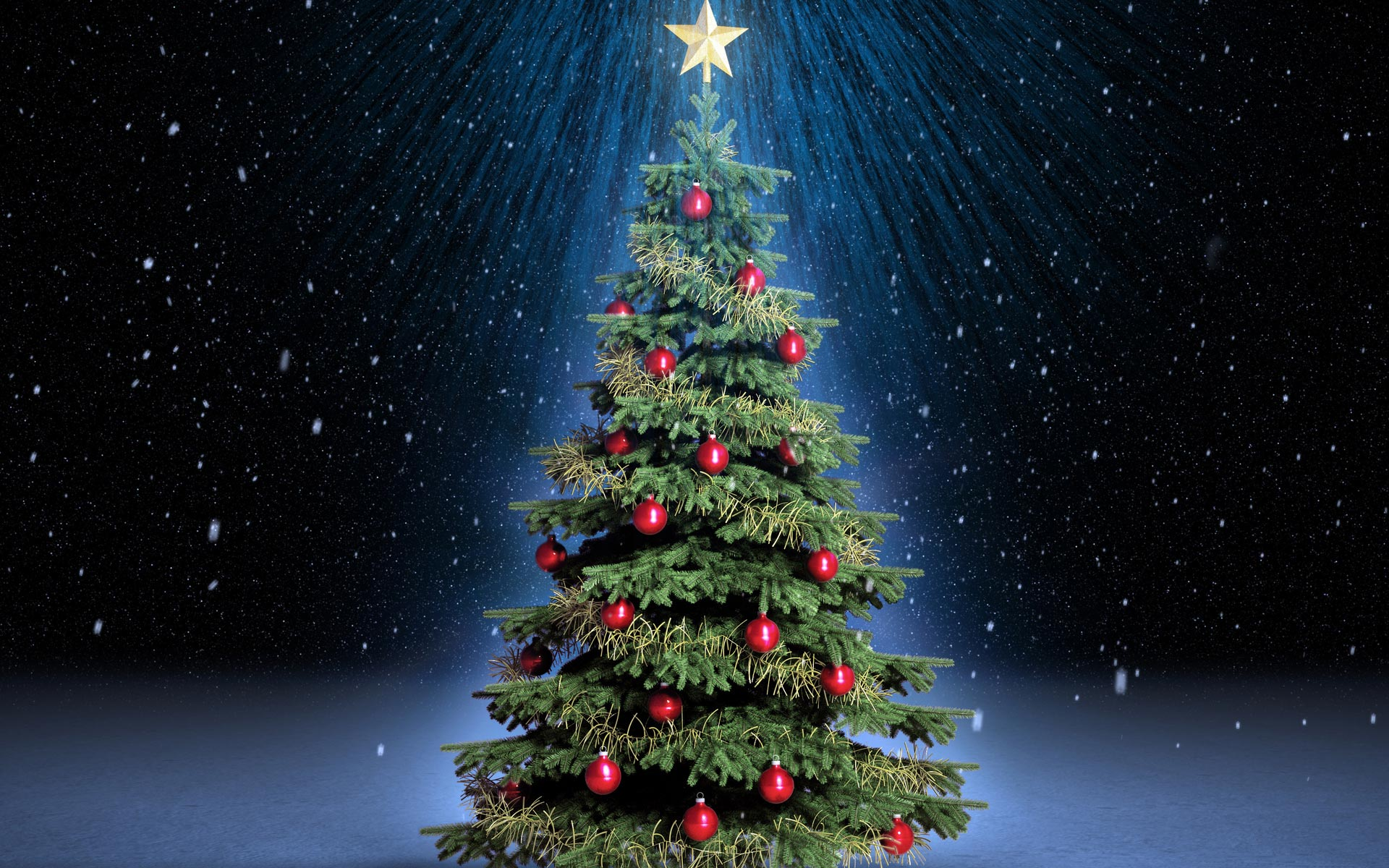 Free Christmas Tree Wallpaper 22867
