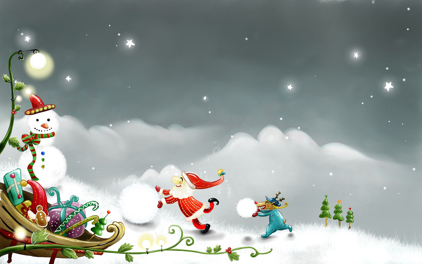 free santa claus wallpaper 31562