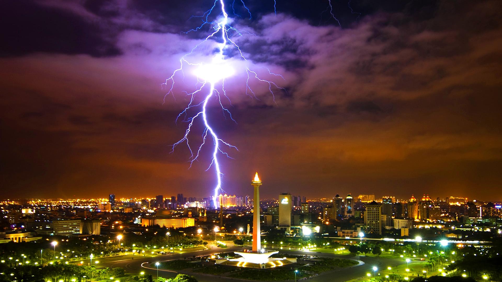 lightning wallpapers 33478