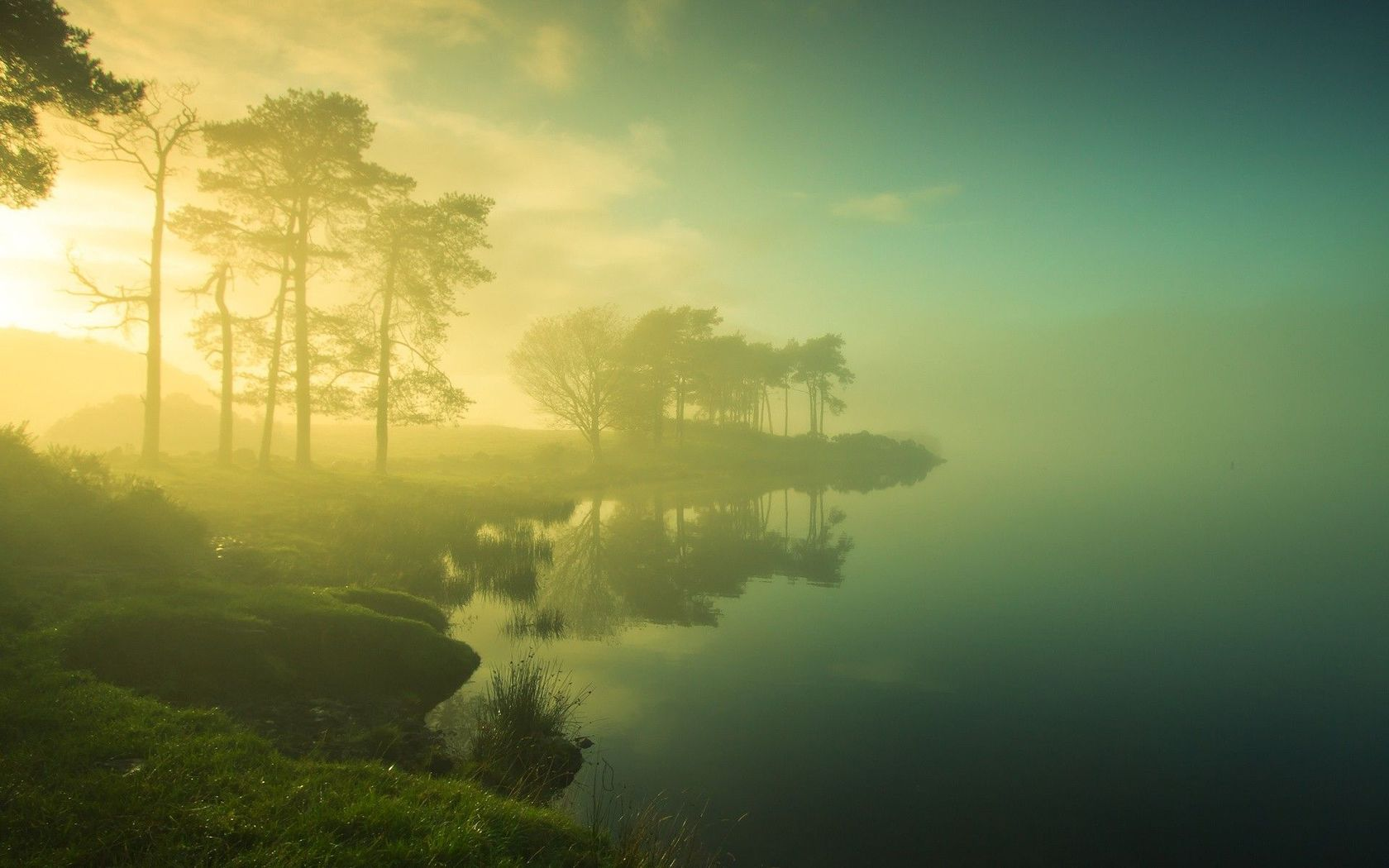 misty fog landscape wallpapers - photo #28