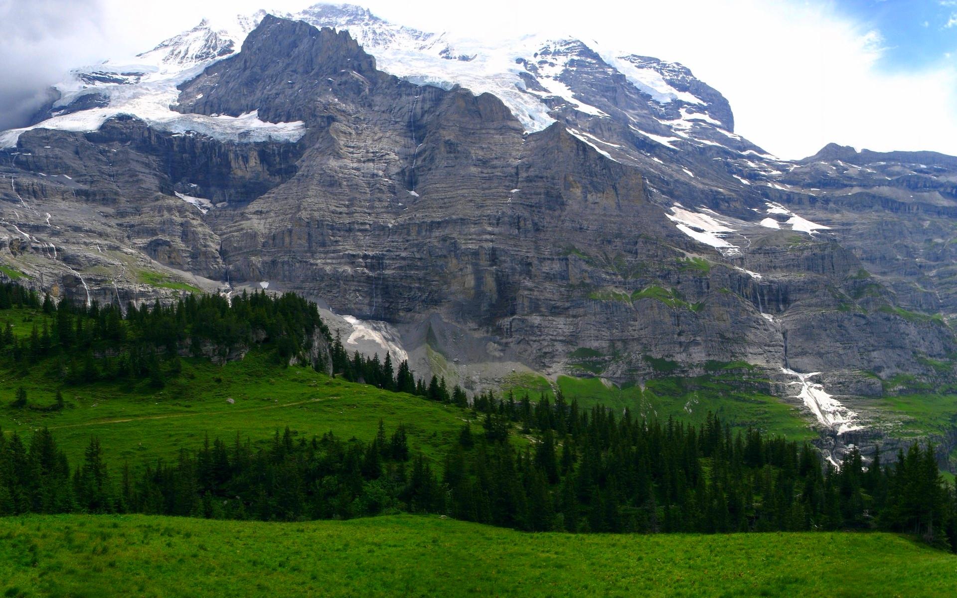 mountain valley wallpaper 29897
