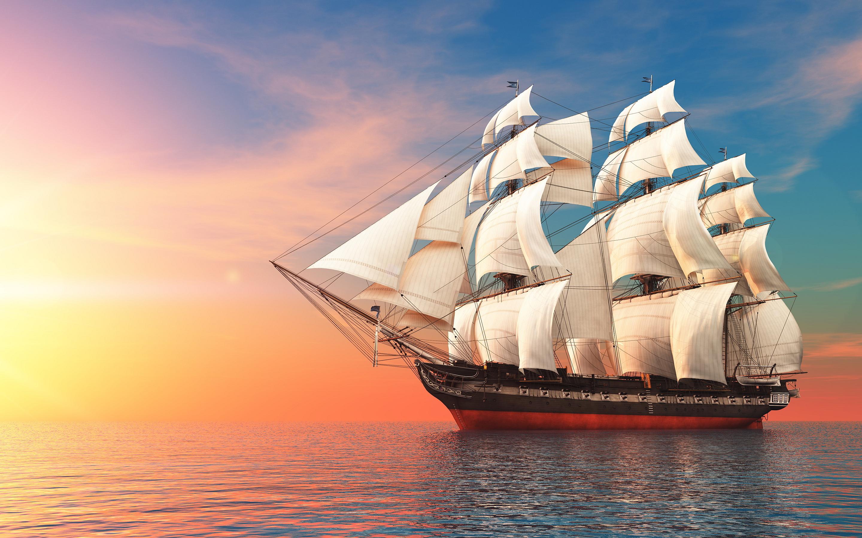 sailboat wallpaper 7775
