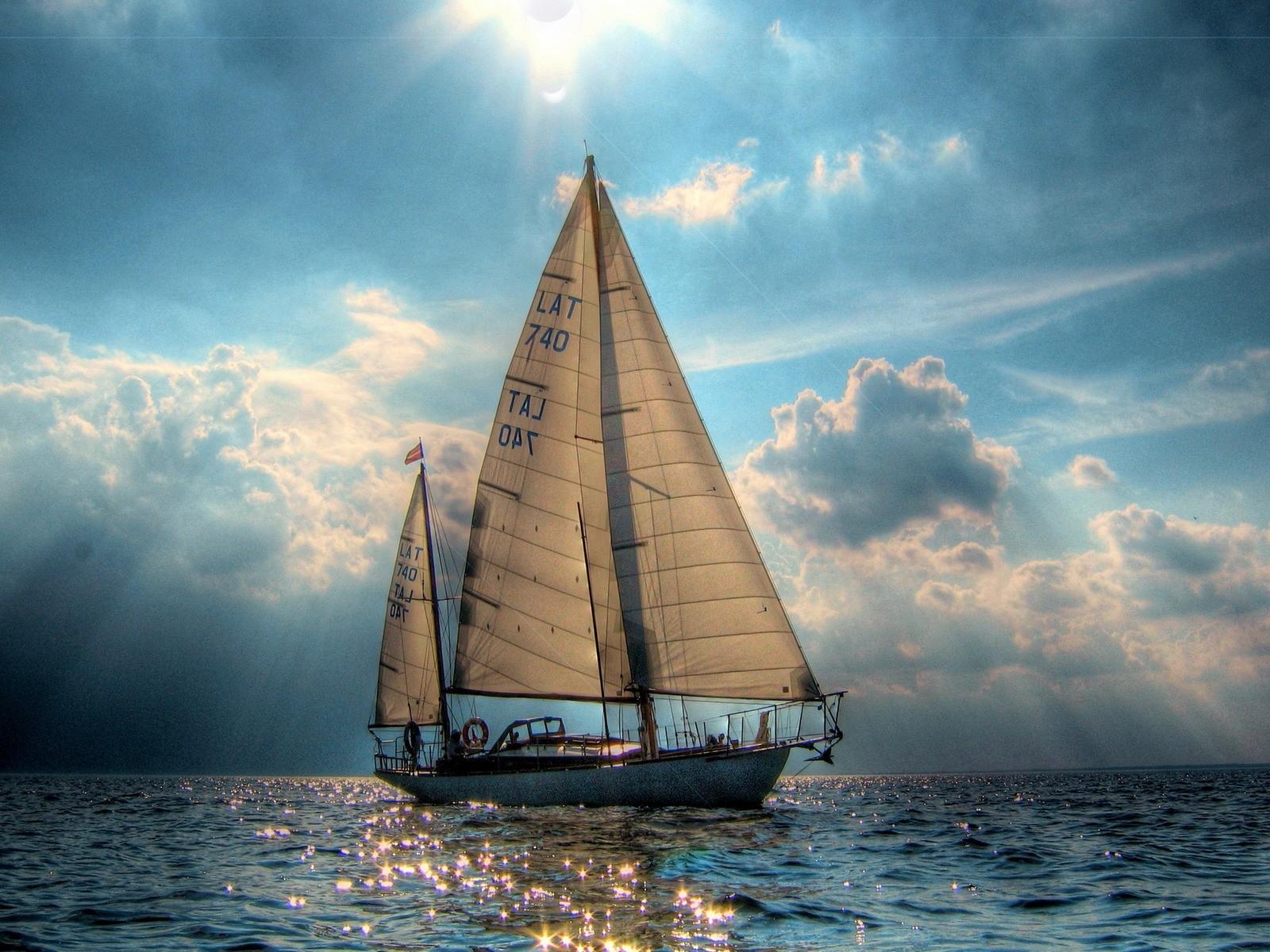 sailboat wallpaper 7780
