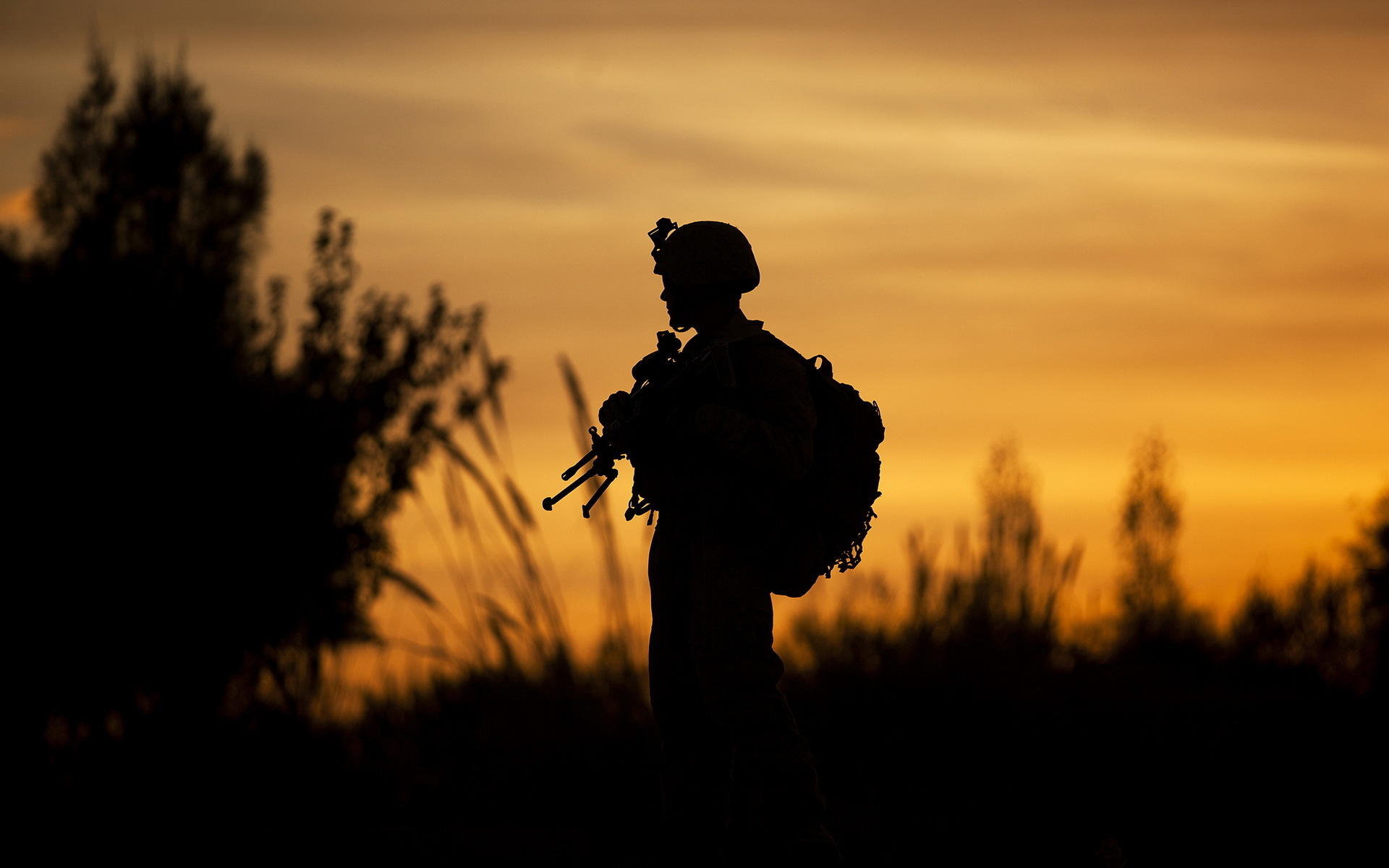soldier silhouette wallpaper 43497