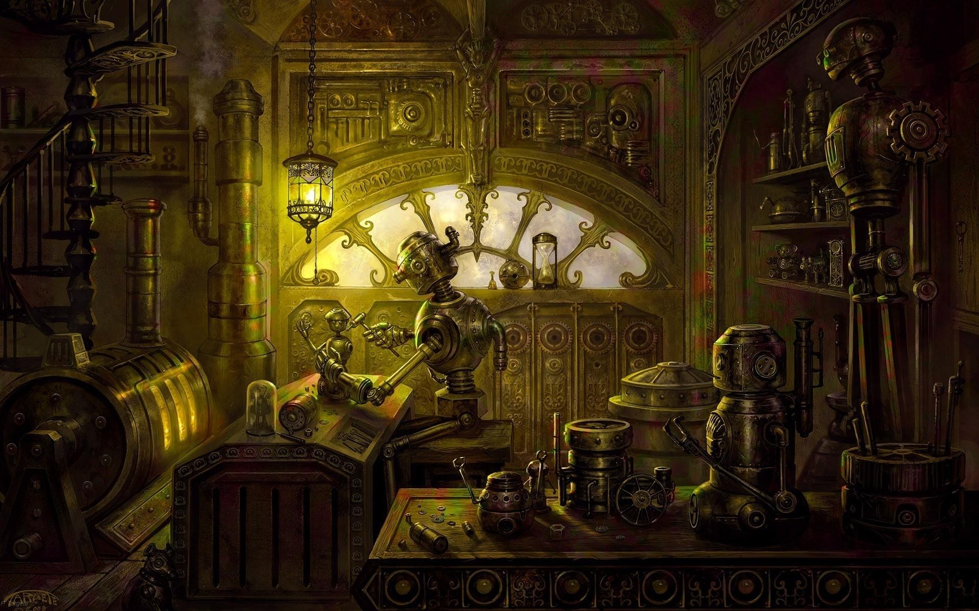 steampunk wallpaper 4992