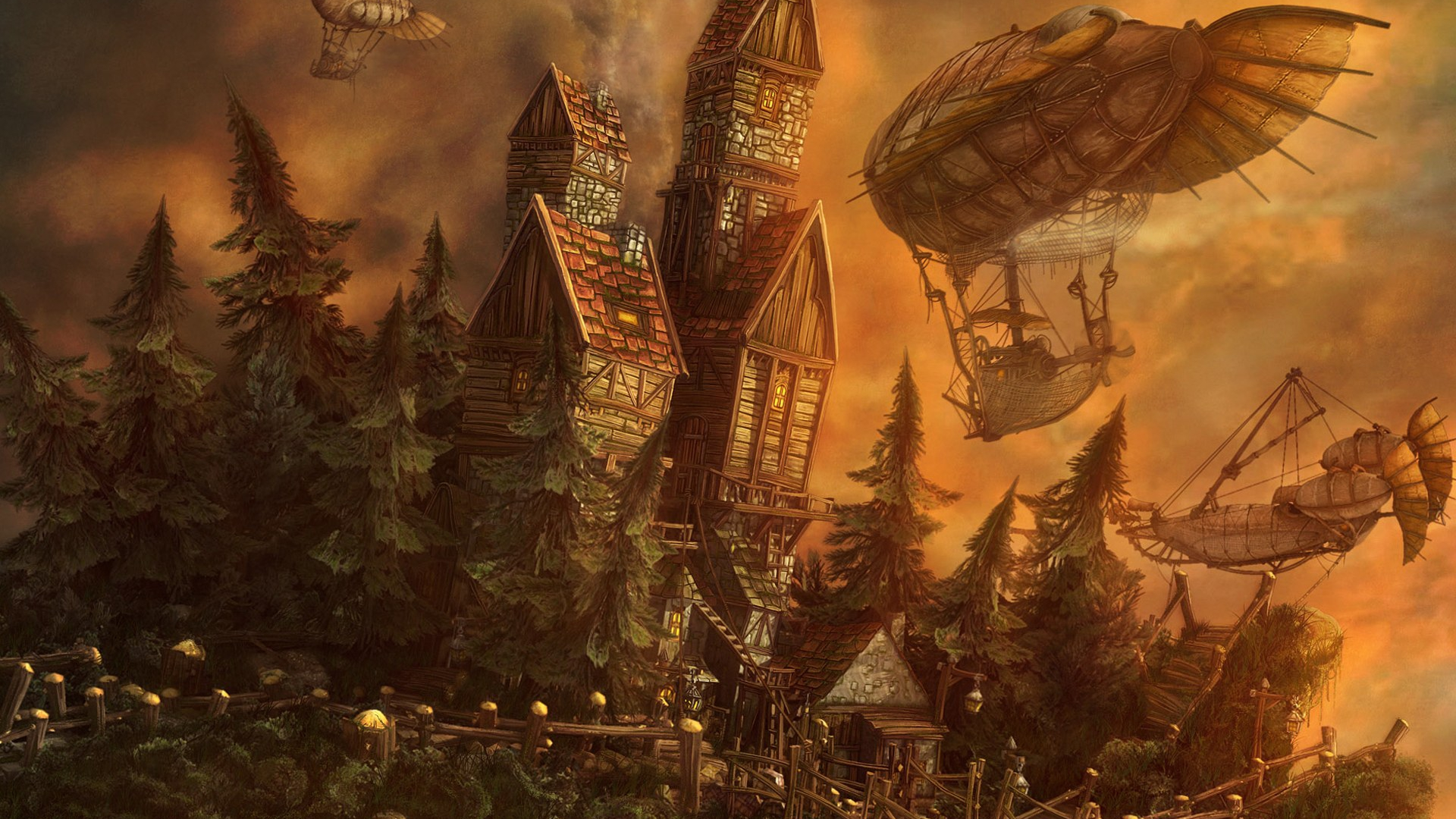 steampunk wallpaper 4994