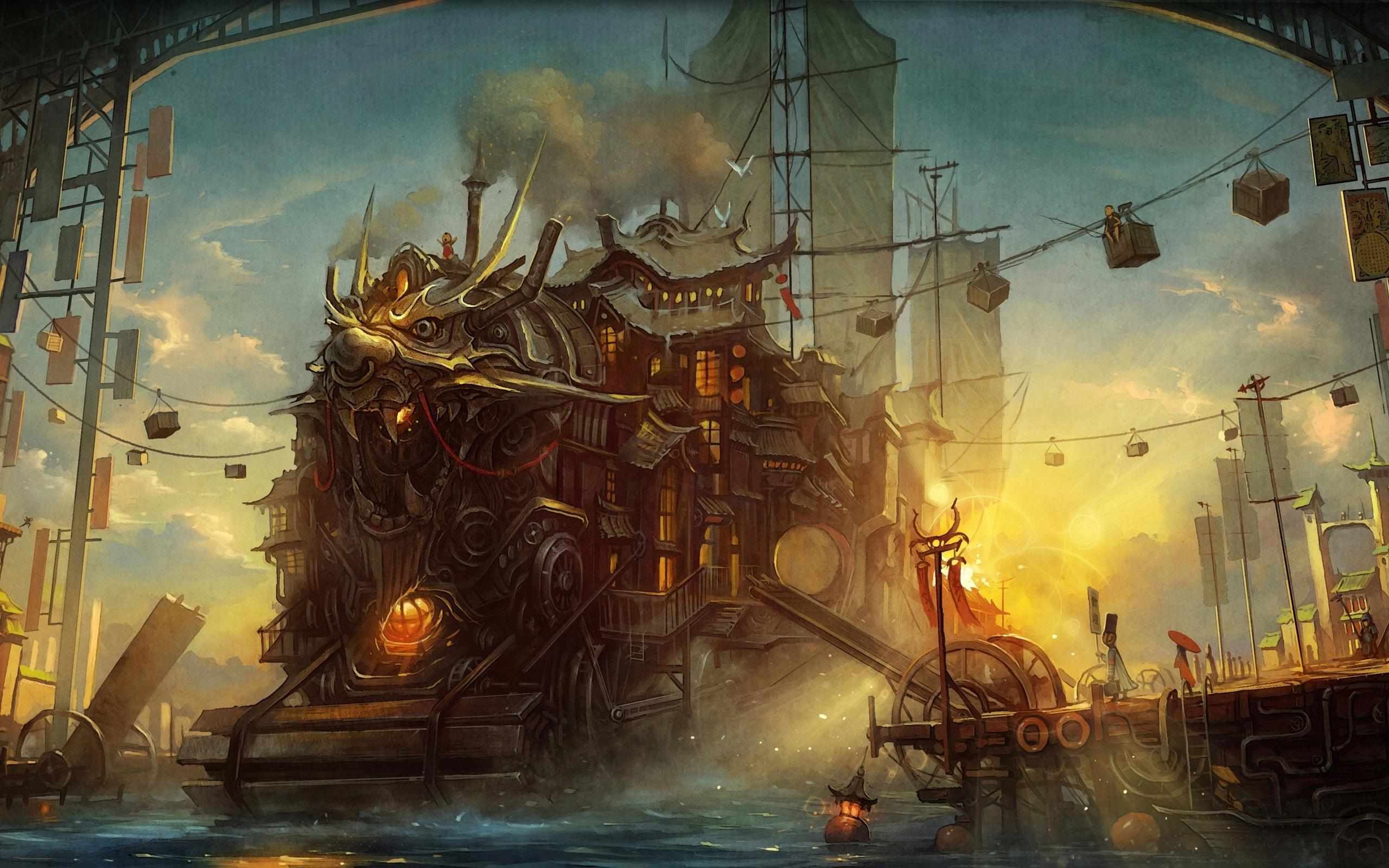 steampunk wallpaper 4997