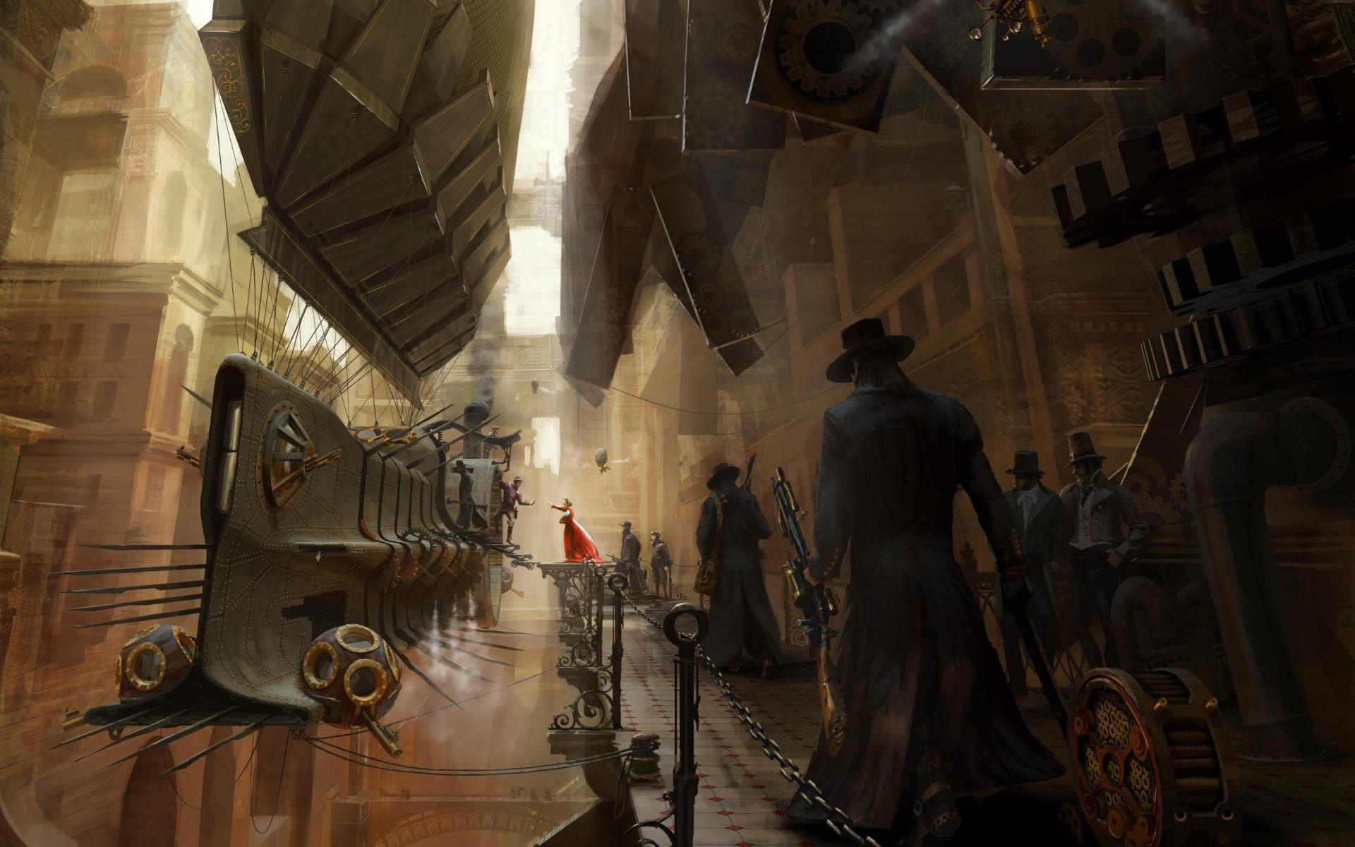 steampunk wallpaper 5003