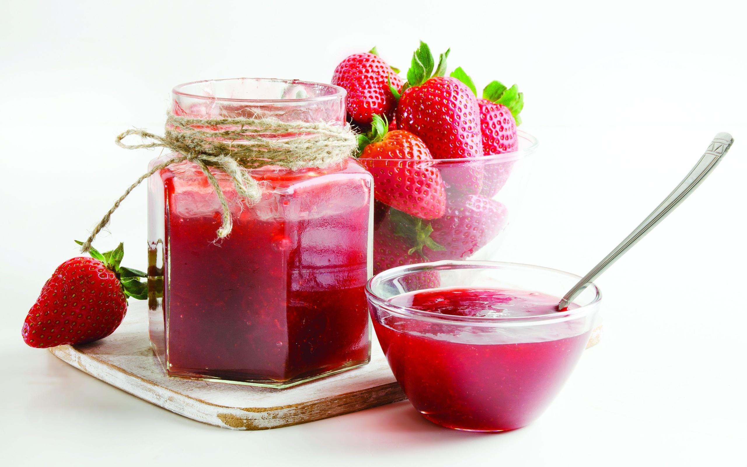 Strawberry Jam Wallpaper 43545 2560x1600 px ~ HDWallSource.com