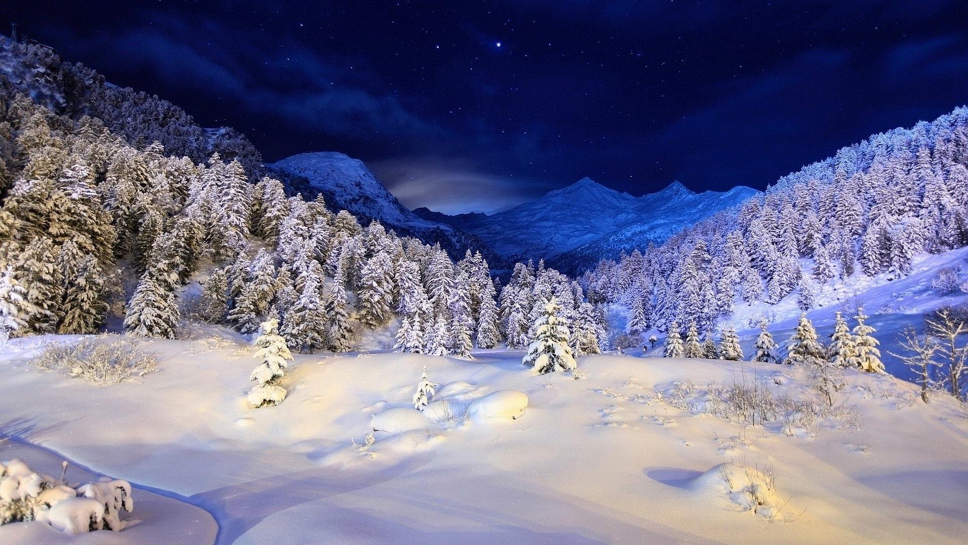 stunning winter mountains 29615