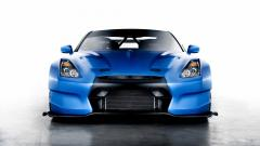 Amazing Blue Car 32617