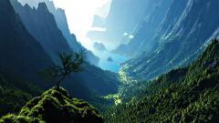 Amazing Mountain Valley Wallpaper 29910