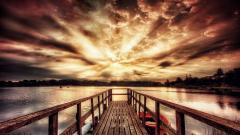 Beautiful Dock Wallpaper 41856