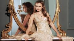 Beautiful Lily Collins Wallpaper 34364