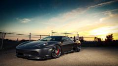 Black Ferrari Car Wallpaper 45125
