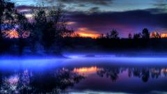 Blue Sunset 15117