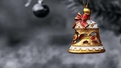 Christmas Bell Wallpaper 39638