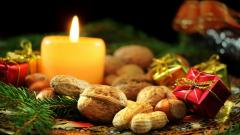 Christmas Candle Wallpaper 41078