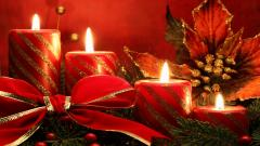Christmas Candles Wallpaper 41081