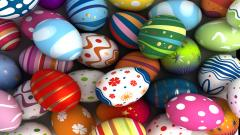 Colorful Easter Eggs 28239