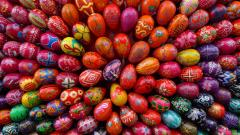 Colorful Easter Eggs 28242